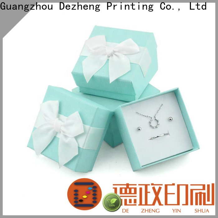 Dezheng custom boxes with logo factory