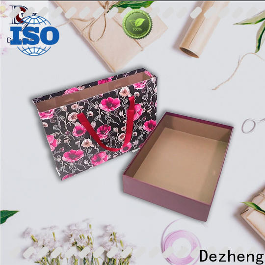 Dezheng Suppliers kraft paper jewelry boxes factory