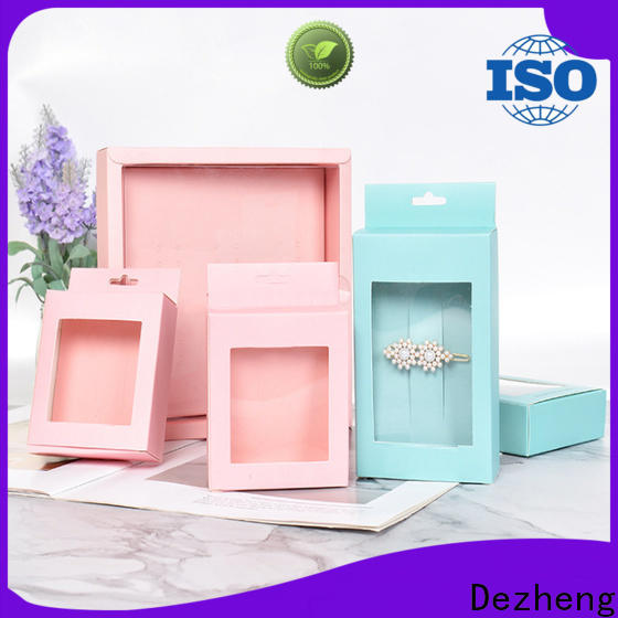 Dezheng kraft paper jewelry boxes manufacturers