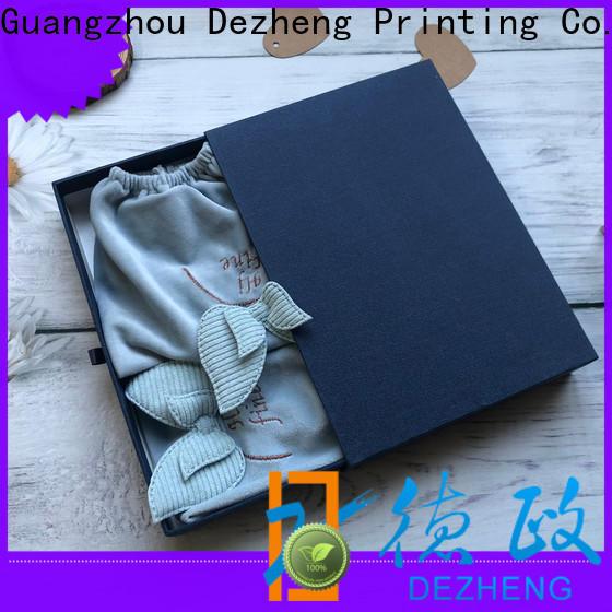 Dezheng factory paper box packaging manufacturers Supply