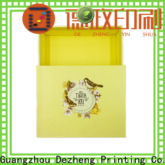 Dezheng cardboard packing boxes manufacturers