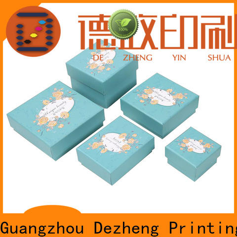Dezheng kraft paper gift box factory