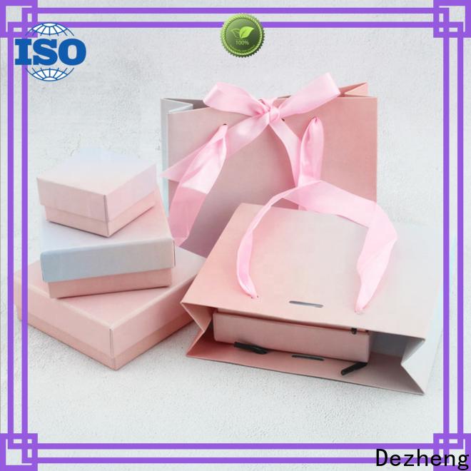 Dezheng custom boxes with logo customization