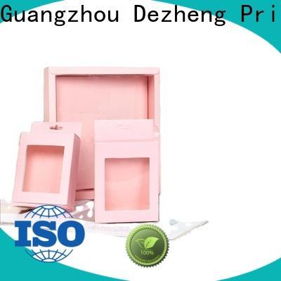 Dezheng customization paper gift box Supply