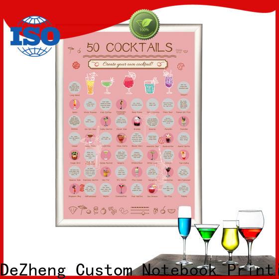 Dezheng Suppliers scratch poster Supply