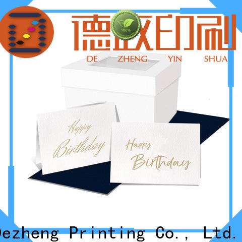 High-quality personalised birthday cards embossed For gift card