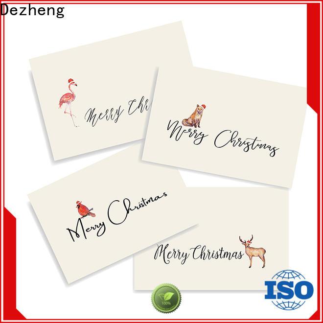 Dezheng animal christmas card sale for Christmas gift