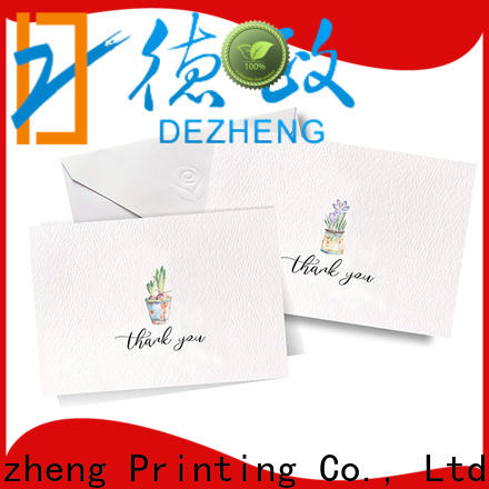 portable greeting card price gold company for gift