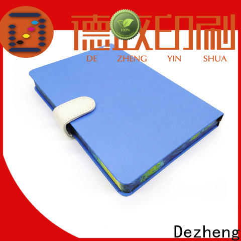 Dezheng portable personalized hardcover notebook company For journal