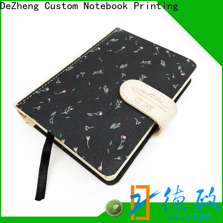 Dezheng Wholesale hardcover journal book for business For note-taking