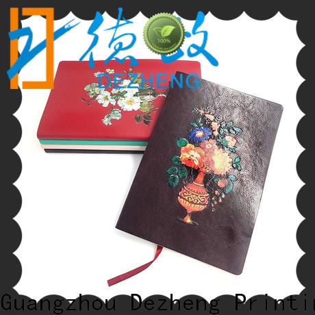 Dezheng bookmark Leather Journal Manufacturer customization for note taking