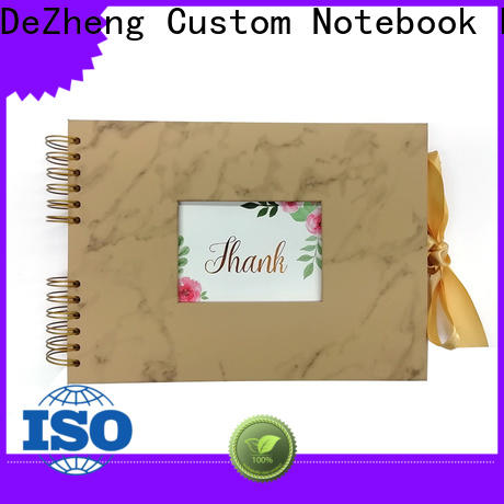 Dezheng marble personalised leather photo album company For photo saving