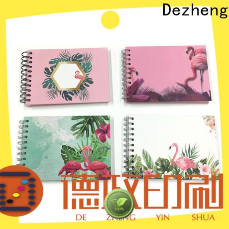 Dezheng beautiful scrapbooking album photo Supply for festival