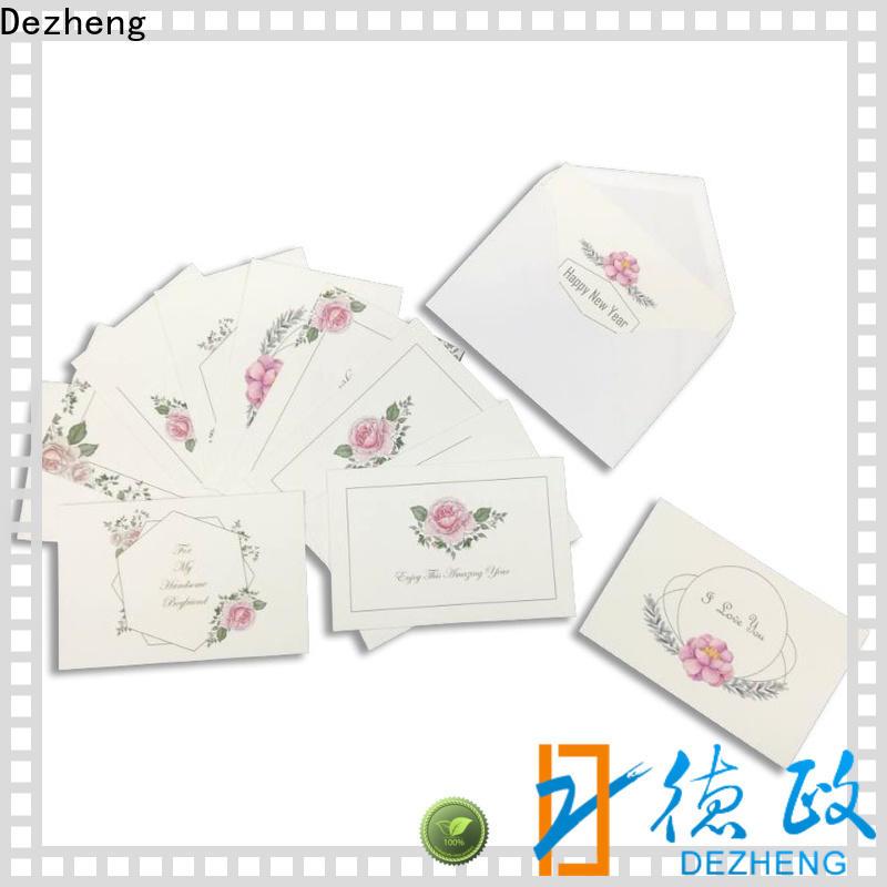 Dezheng High-quality greeting card manufacturers china