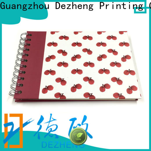 Dezheng pages self adhesive photo albums factory for friendship