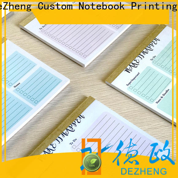 Dezheng latest task notebook company