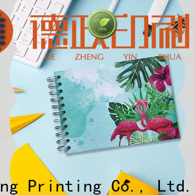 Dezheng Wholesale kraft self adhesive photo album company for friendship