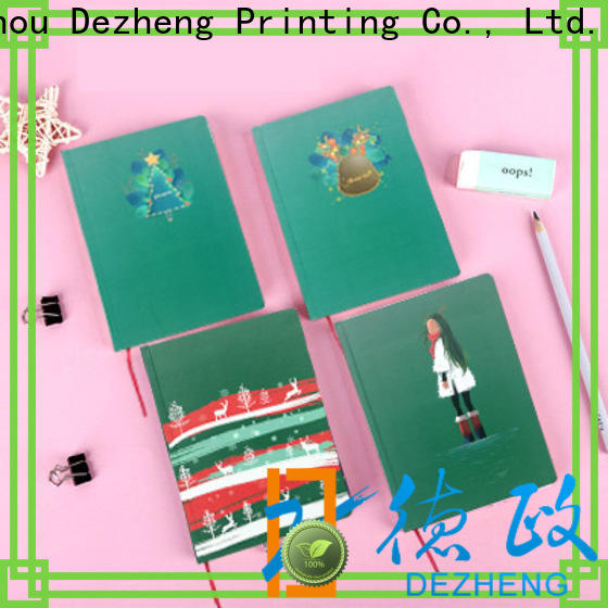 Dezheng latest blank hardcover notebook customization For journal