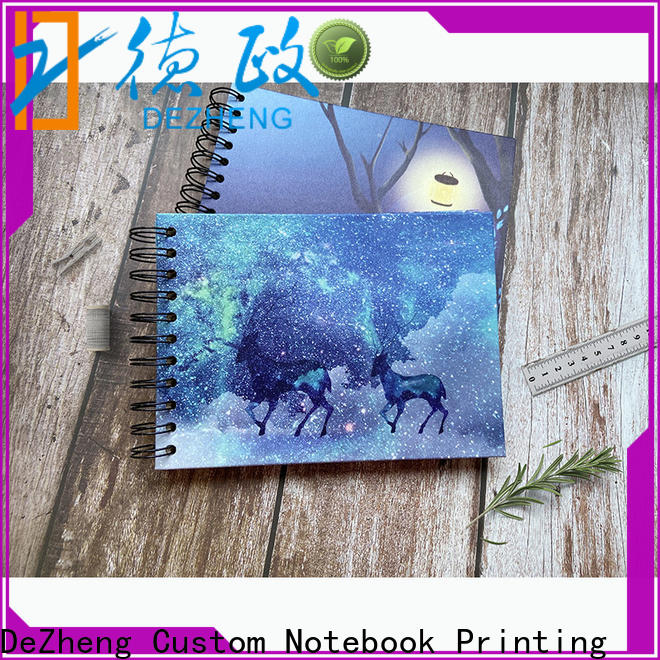 Dezheng portable scrapbook style photo album for friendship