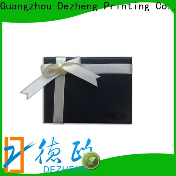 Dezheng paper box price customization