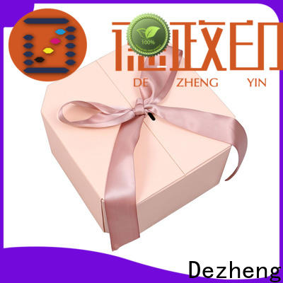 Dezheng Suppliers paper jewelry gift boxes manufacturers