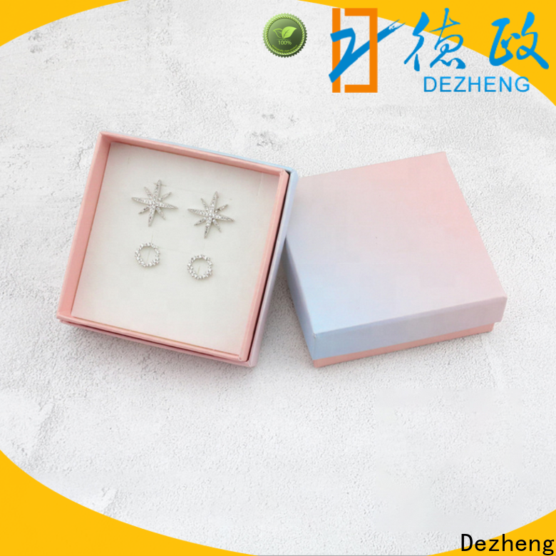 Dezheng Supply custom printed boxes factory