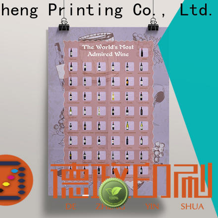Dezheng scratch poster Suppliers