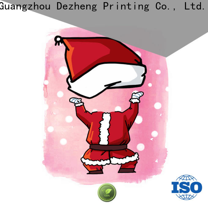 Dezheng animal custom printed holiday cards manufacturers