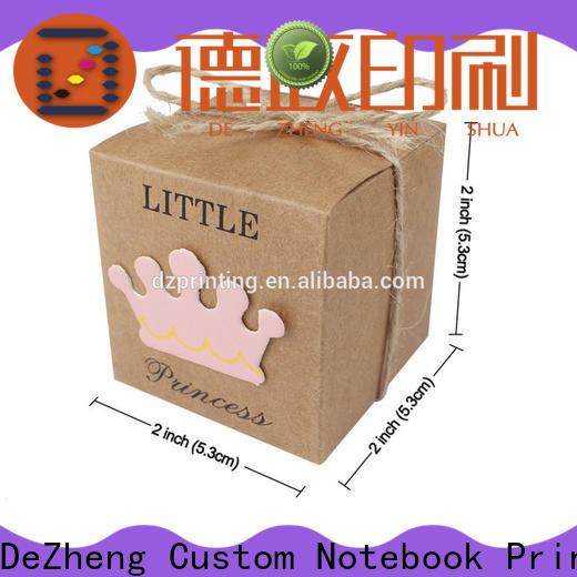 Dezheng cardboard gift boxes factory