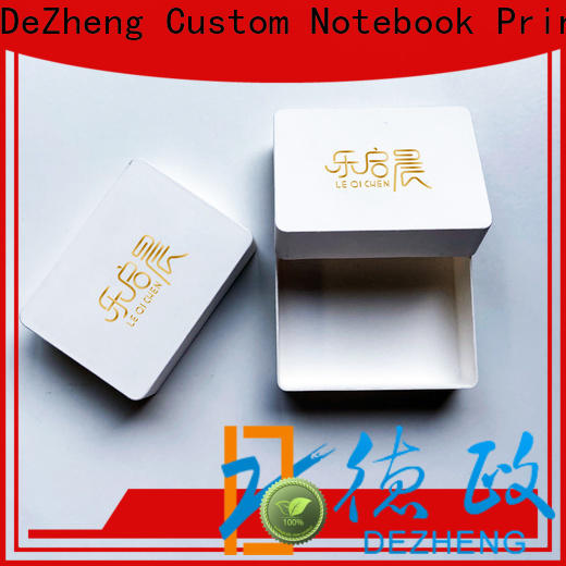 Dezheng recycled paper jewelry boxes Supply
