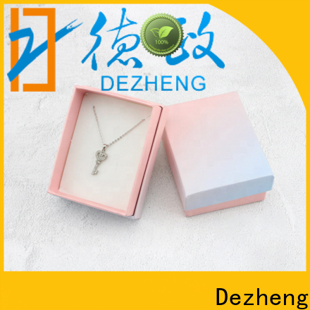Dezheng company paper jewelry gift boxes factory