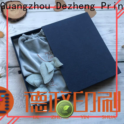 Dezheng company custom boxes with logo Supply