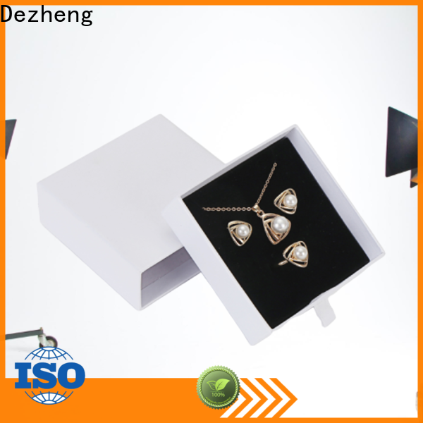 Dezheng manufacturers paper jewelry box manufacturers factory