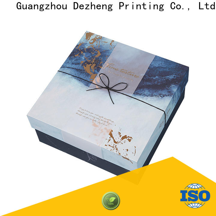Dezheng cardboard gift boxes factory