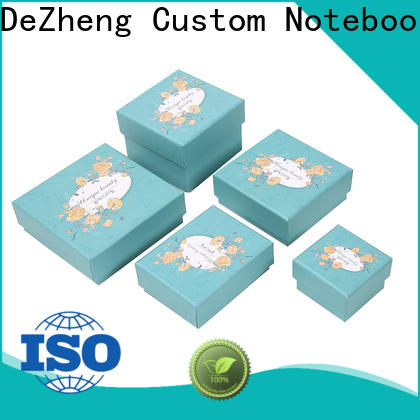 Dezheng custom jewelry boxes factory