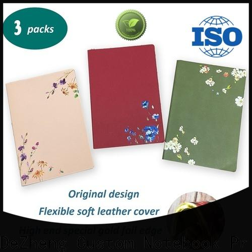Dezheng durable custom sketchbook cover Suppliers for note taking
