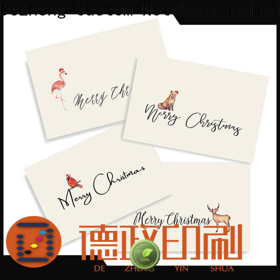 latest custom xmas cards animal Suppliers