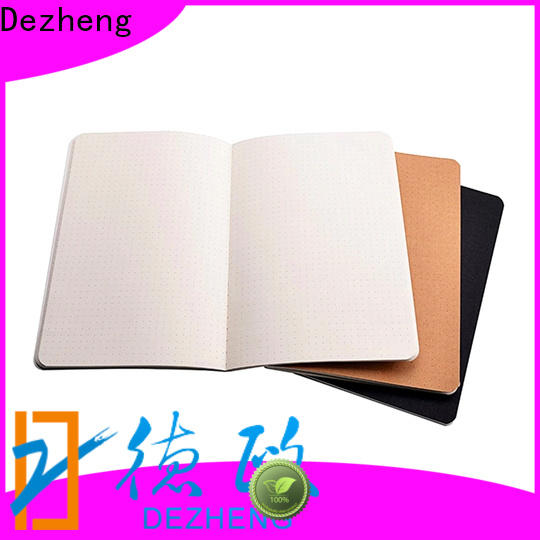 Custom Eco Friendly Notebooks Wholesale a5 factory For meeting
