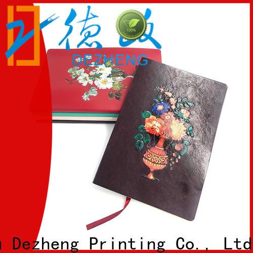 Dezheng New custom printed moleskine journals for business for note taking