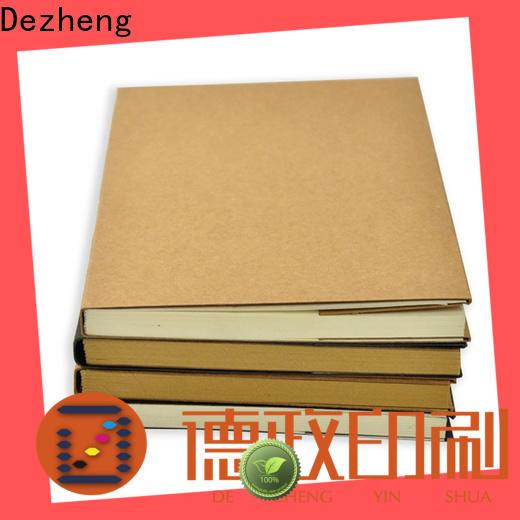 Dezheng free design sketchbook sizes customization For notebooks logo design