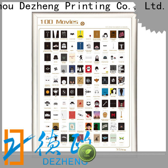 Dezheng bucket scratch off movies Supply for movie collect