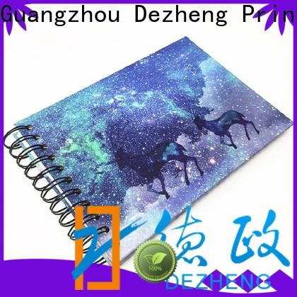 Dezheng beautiful self stick albums manufacturers for festival