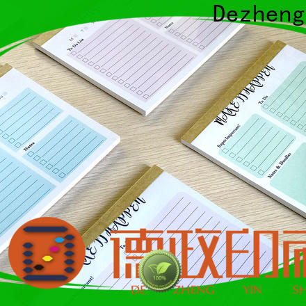 Dezheng Wholesale to do list notebook for wholesale