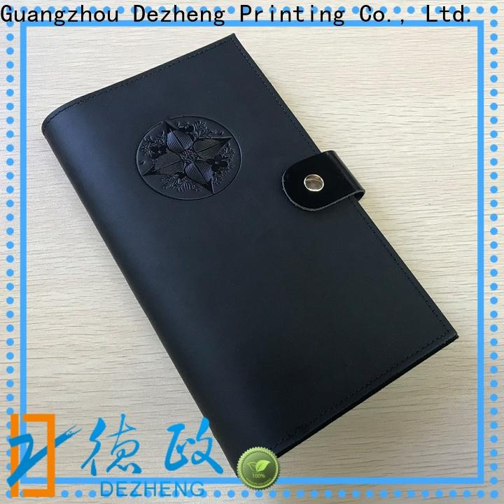 Dezheng high-quality best leather notebook cover for business For meeting