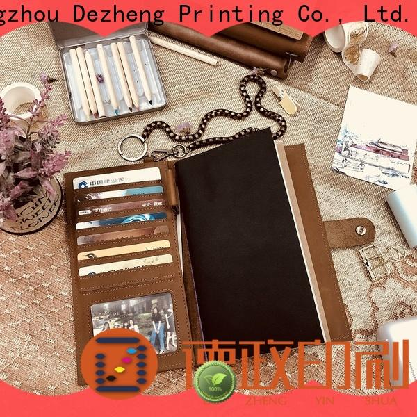 Dezheng New leather journal cover For meeting