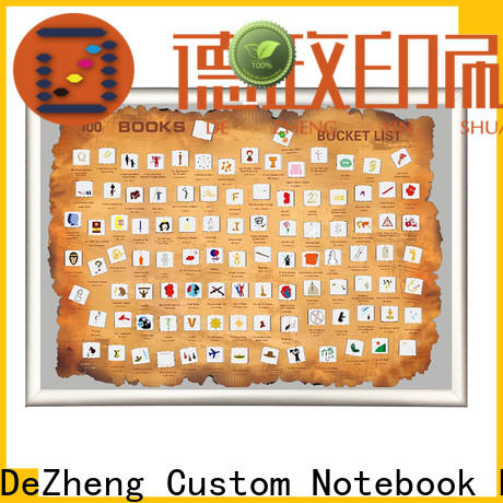 Dezheng Top scratch off poster books manufacturers For