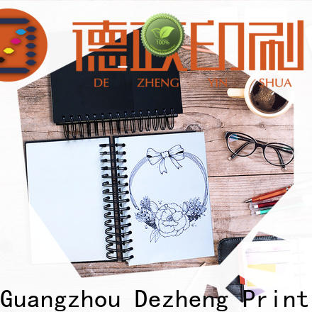 Dezheng Customized Custom Notebook Printing Manufacturers Suppliers For notebook printing