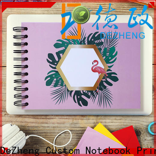 Dezheng Custom self adhesive photo albums for sale factory for friendship