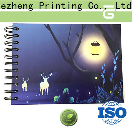 Dezheng latest photo album self adhesive pages for festival