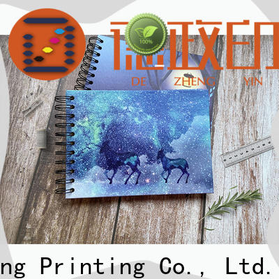 Dezheng credit Notebook Factory Suppliers For Gift